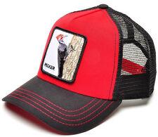 NEW! Goorin Bros Animal Farm WOODY WOOD Mesh Trucker Hat Snapback PECKER Cap