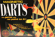 NEW MIB Magnetic Darts, 2 games in 1  The game with no point to it!