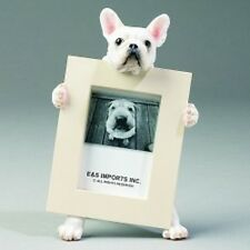 FRENCH BULL DOG  WHITE    PICTURE FRAME #64