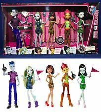 New STUDENT DISEMBODY COUNCIL - 5 Doll Set - WE ARE MONSTER HIGH Gilda Goldstag