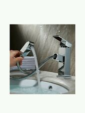Homfa Kitchen Sink Pull Out Mixer Tap,modern single-hole kitchen sink faucet wit