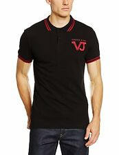 Versace Jeans men's New collection polo shirt new VJ logo size M (48IT)*