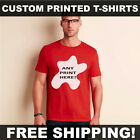 CUSTOM PRINTED PERSONALISED T-SHIRTS TEE SHIRT HEN STAG BRIDE CHARITY RUN GD001