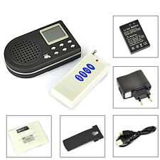 BORUiT 10W 182song Bird Caller MP3 Predator Hunting Tool+Remote Support 2speaker