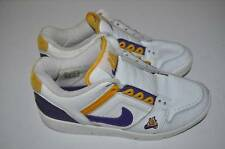 NIKE AIR FORCE ONE LA LAKERS KOBE BRYANT BASKETBALL WHITE SHOES MENS SIZE 8