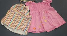 2 Item LOT of girl size 5T Clothing Spring/Summer Dresses Girl Connection, etc.