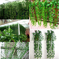 Artificial Ivy Leaf Garland Fake Foliage Flowers Window Wall Fence Wedding Decor