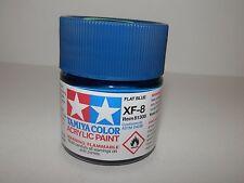 Tamiya Color Acrylic Paint Flat Blue #XF-8 (23 ml) NEW