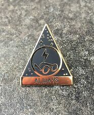 "HARRY POTTER ""ALWAYS"" GOLD ENAMEL PIN BADGE 