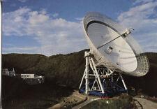 Alte Postkarte - Größtes vollschwenkbares Radioteleskop der Welt bei Effelsberg