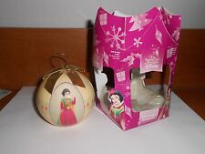 HOLIDAY christmas ornament new disney snow white bulb 2600 2005 decoupage
