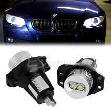 2x 10W LED Halo Ring Marker Angel Eyes Light Bulb For BMW 3 Series E90 E91 05-08