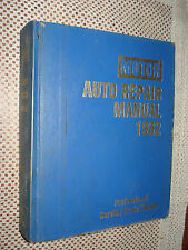 1977-1982 MOTORS MANUAL CHEVY SERVICE SHOP BOOK FORD DODGE CADILLAC VETTE BUICK