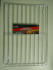 2 WIRE BAKING & COOLING RACKS oven grilling chicken fish brats kebabs steaks