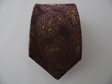 CORDA SILK COTTON TIE SETA COTONE CRAVATTA MADE IN ITALY A659
