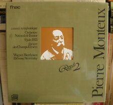 SEALED Fnac Beethoven Symph 7 - Debussy - Stravinsky Live Pierre Monteux 6/55