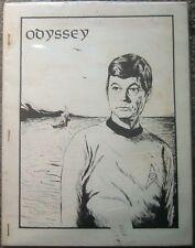 """Star Trek TOS Fanzine """"Odyssey 1, 2, 3, 4, 6, 6.5, 7, 7.5"""" Gen Vintage"""