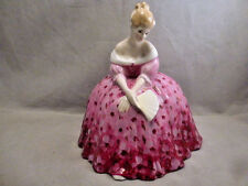 STYLISH ROYAL DOULTON CHINTZ FLORAL  VICTORIA HN2471 FIGURINE BY PEGGY DAVIES