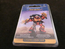 Gamesday 2012 GD12 Limited Edition SM Blood Angels Captain Sealed Blister Pack