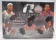 2008-09 UD Radiance Basketball Sealed Hobby Box - 3 Packs, 4 Cards Per Pack
