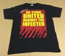 Zombie Land We Stand United Licensed Screen Printed T-Shirt - Men's Size X Large