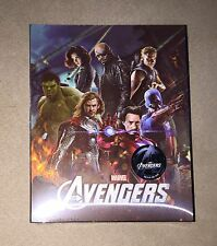 NOVAMEDIA | THE AVENGERS LENTICULAR | Blu-ray Steelbook | 533/2000  |READ Marvel