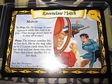 HARRY POTTER TCG QUIDDITCH CUP RAVENELAW MATCH 23/80 RARE ENGLISH MINT