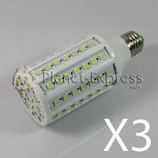 3 x Ampoule 86 LED SMD 5050 E27 Blanc Chaud 220V 15W 1548 lumens eq. 120-150W