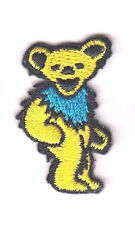 GRATEFUL DEAD-YELLOW DANCING BEAR(Small)-Iron On Patch/Music, Rock N'Roll, Band