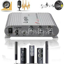 200W Mini Hi-Fi 2.1 Amplifier Booster Radio MP3 Stereo for Car Motorcycle Home E
