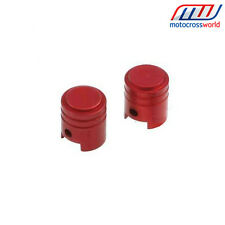 NEW RFX Aluminium Dust Valve Caps Red CR CRF KXF KX YZF YZ SX SXF RM RMZ
