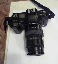 vintage MINOLTA 7000 camera 35105 auto focus lens great display collectors item