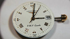 ETA 256.111 new watch movement with LONGINES dial and hands