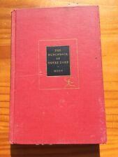 THE HUNCHBACK OF NOTRE DAME - VICTOR HUGO 1950'S MODERN LIBRARY HC BOOK