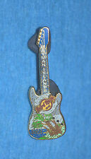 HARD ROCK CAFE 2008 Cayman Islands Hurricane Spinner Guitar Pin # 42225