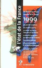 L'état de la France sous la dir. de Serge Cordellier et Élisabeth Poisson Livre