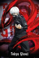 Tokyo Ghoul Poster - Ken Kaneki - New Japanese Manga poster FP4044