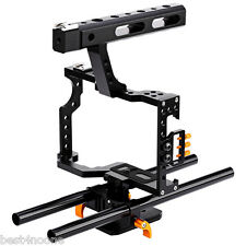 DSLR Camera Video Cage Stabilizer Rig for A7S / A7 / A7R / a7