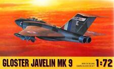 GLOSTER JAVELIN FAW MK 9 (RAF MARKINGS) 1/72 GOMIX RARE!