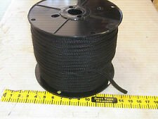 3/8x300  feet Double Braid Nylon BLACK ROPE Anchor Dock Hoist Winch  Lift