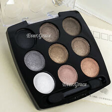 Natural Warm 9 Colors Make Up Eyeshadow Palette Nude Neutral Eye Shadow Shimmer