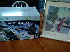 Ace Combat 6 Fires of Liberation Limited Edition w. Hori Flight Stick EX In Box