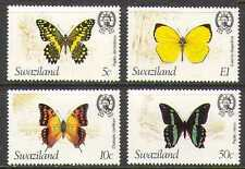 Swaziland 1981 Butterflies/Insects/Nature/Butterfly 4v set (n22164)