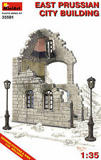 MiniArt 1/35 35501 East Prussian City Building (WWII Military Diorama)