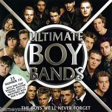 ULTIMATE BOY BANDS (NEW 2 x CD SET) HANSON / BOYZ II MEN / BUSTED / NEW EDITION
