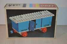 01087 LEGO Trains 4.5V Train Cars vintage - Goods Waggon 124 124-1 + BOX & PLAN