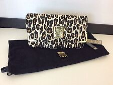 Biba Ladies Clutch Bag, NEW leopard Print, Multi, BNWT RRP £160.... Handbag
