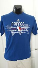 ADIDAS 2010 SOUTH AFRICA FIFA WORLD CUP SOCCER FRANCE Futball T-Shirt Small Rare