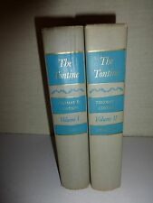 1955-THE TONTINE VOLUME 1 & 2 BY THOMAS COSTAIN-FIRST EDITION HB-DOUBLEDAY B102