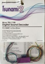 Soundtraxx 884001 TSUNAMI 2 1A TSU-1100  Sound Decoder STEAM MODELRRSUPPLY